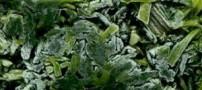سبزی منجمد از سبزی تازه مغذیتر است!