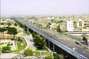 افتتاح اولین بزرگراه دو طبقه ایران