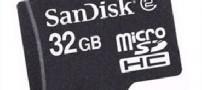 کارت حافظه 32 گیگابایتی برای موبایل