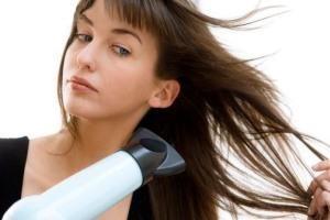 بهترین روش خشک کردن مو