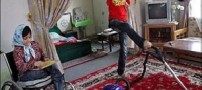 احمد دو دست ندارد فاطمه دو پا:ما همه چیز داریم