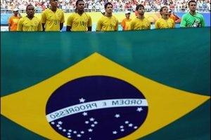 لباس بازیافتی بر تن بازیکنان برزیل