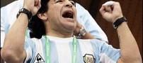 مارادونا ممنوع السیاست شد !
