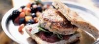 طرز تهیه ماهی برگر با نان تست