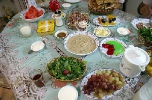 بخورنخورهای افطاری و سحری