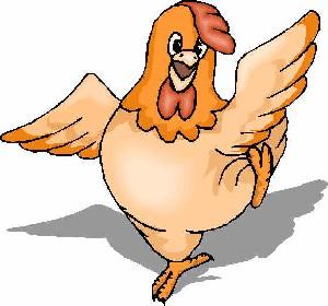 مرغی که تغییر رنگ میدهد !
