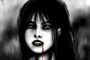 دختری که شبیه فرشتههاست اما فقط خون میخورد!!