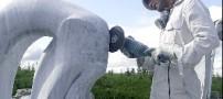 نصب مجسمه یک ایرانی در کانادا