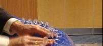 فلوتی که با آب مینوازد