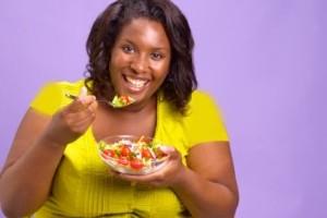 چگونه با خوردن وزن کم کنیم؟
