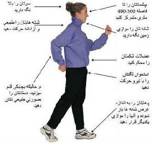 برنامه 12 هفته ای پیاده روی