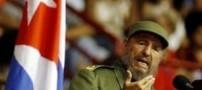 فیدل کاسترو : سارکوزی دیوانه است