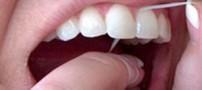 رابطه نخ دندان و طول عمر