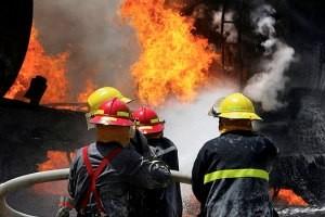 آتش سوزی در یکی از پاساژهای معروف تهران