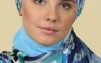 هنرپیشه زن مشهور روسی مسلمان شد