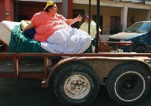 کاهش وزن 230 کیلویی چاق ترین زن جهان