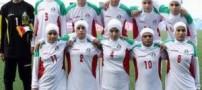 یک مرد ذخیره تیم فوتبال دختران ایران