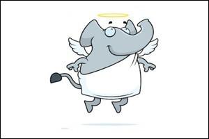 چه کسی اولین بار از دماغ فیل افتاد؟!!