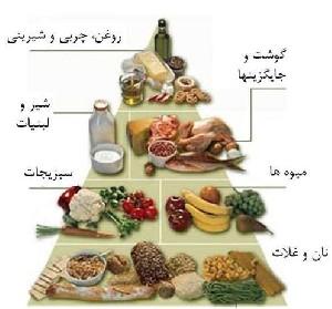 نحوه استفاده از هرم غذائی