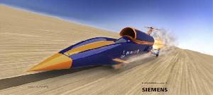 رانندگی با سرعت 1600 کیلومتر در ساعت!!