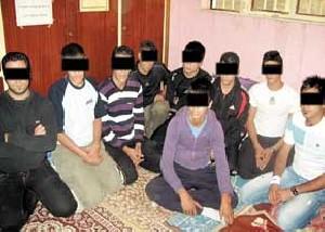 ده عضو باند وحشت دستگیر شدند