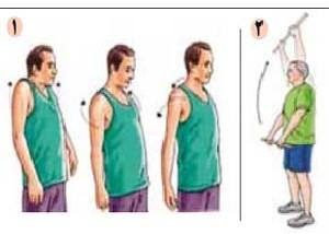 حركاتی برای بهبود و رفع درد شانه