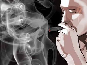 رابطه دود سیگار و سن انسان