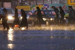 سه شنبه روز بارش باران واقعی در تهران
