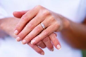 انگشت عشق و حلقه ازدواج