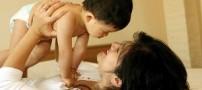 نوزاد عاشق زل زدن به چشم مادر است!!