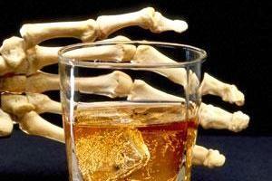 افزایش مرگ ناشی از مسمومیت با الکل