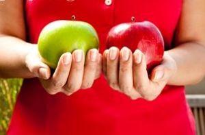 تأثیر سیب بر روی سفیدی دندان ها
