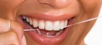 ابتدا از نخ دندان استفاده کنیم یا مسواک؟!