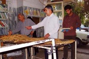 درگیری فرماندار در صف نانوایی با شهروندان