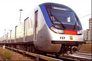 هشت قطار جدید برای ناوگان مترو تهران