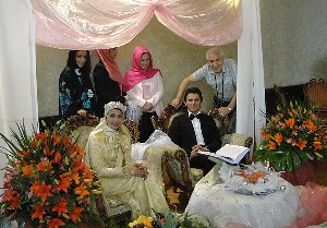 عکس هایی دیدنی از امین حیایی و همسرش در..!؟