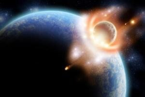 خطر برخورد شهاب سنگی بزرگ با کره زمین و نابودی ما