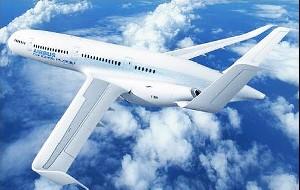 هواپیمای بسیار عجیب با بدنه شفاف و ….!