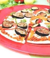 طرز تهیه پیتزای گوشت و بادمجان