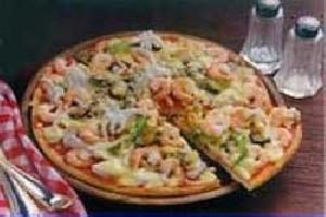 طرز تهیه پیتزای میگو با سس مخصوص
