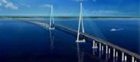 طولانی ترین پل جهان ساخته شد (+عکس)