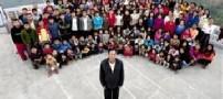 زندگی مردی با 39 همسر در ساختمانی 100 اتاقه