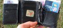 پیدا شدن یک کیف پول پس از 40 سال !!!!