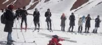 اسکی زنان افغانی به بهانه جذب گردشگر