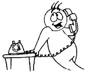 دستگیری یک مزاحم تلفنی پس از 2458 تماس