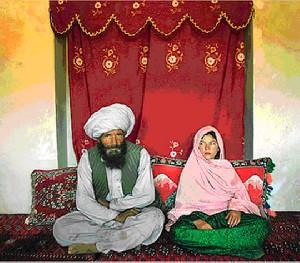 ازدواج دختری مظلوم با 62 سال تفاوت سنی