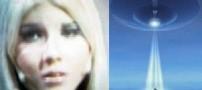 زنی که توسط موجودات فضایی باردار شده !!
