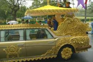 مهمانی ایرانی در جشن ازدواج سلطنتی در انگلیس