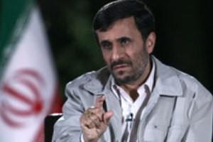 درخواست احمدی نژاد از نمایندگان مجلس