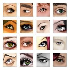 علامت های جالب و شگفت انگیز چشم ها